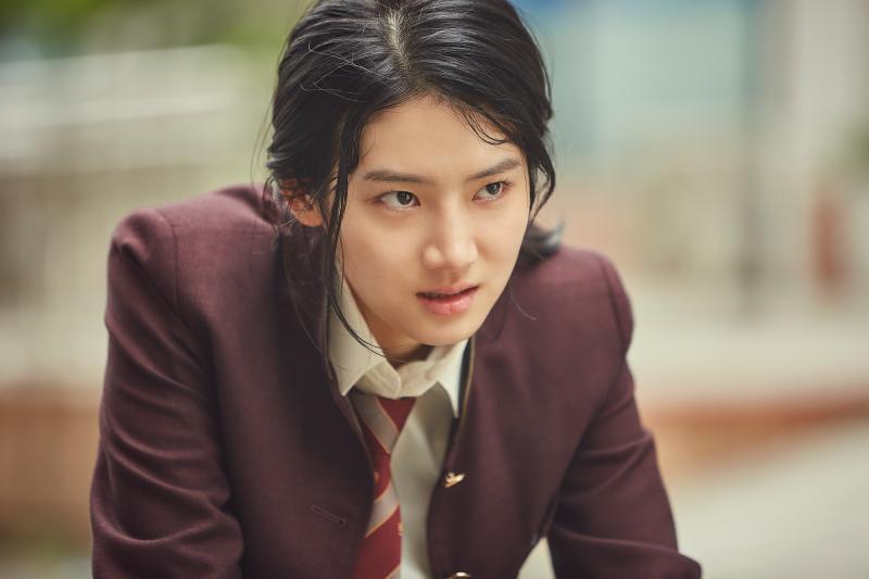 <br> ▲朴柱炫飾演裴葵莉。(圖/Netflix)