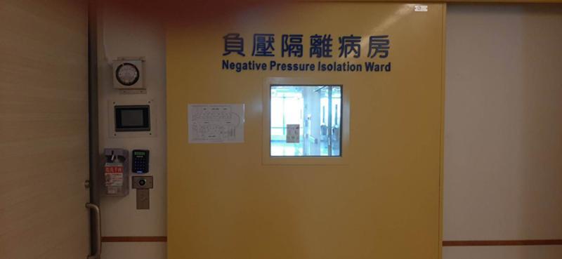 宜蘭縣醫院收治感染症個案最大量為186床,目前都已盤點整備完成