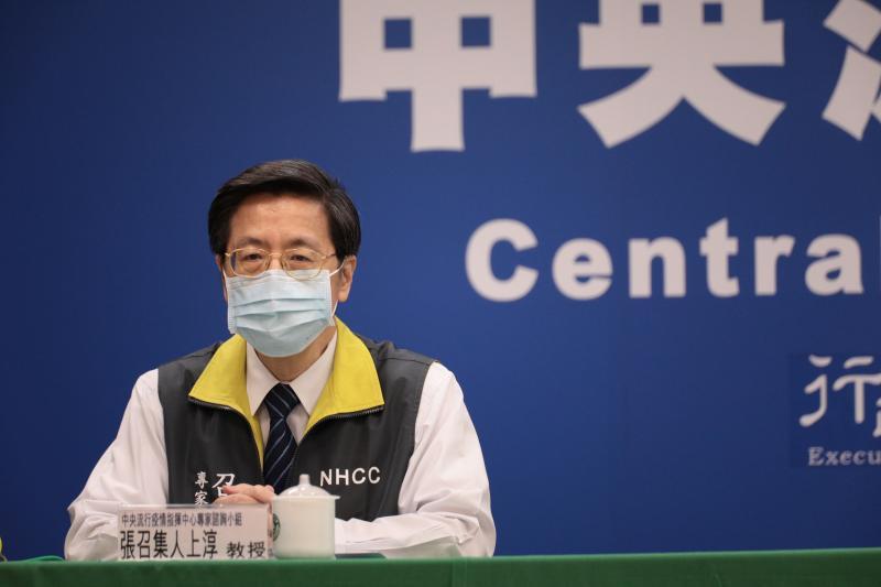 ▲中央流行疫情指揮中心專家諮詢小組召集人張上淳。(圖/指揮中心提供)