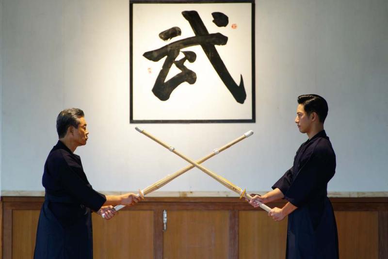 <br> ▲楊烈(左)與周孝安有許多對手戲。(圖 / 公視提供)