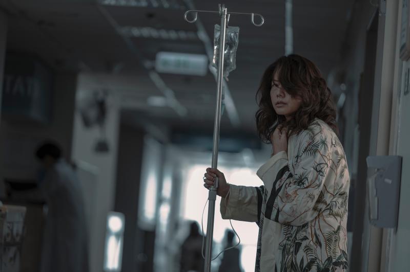 <br> ▲丁寧飾演過氣女星。(圖 / Netflix提供)