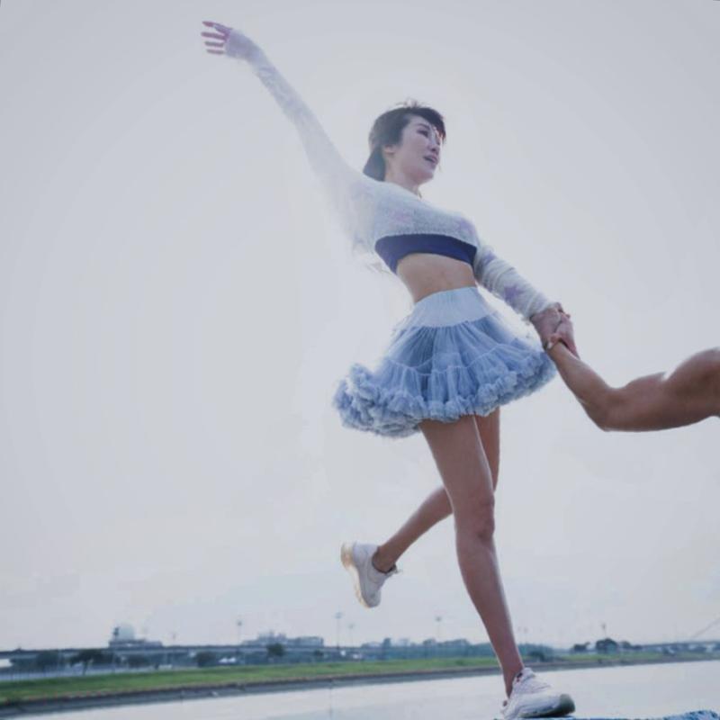 <br> ▲KIMOKO 小小年紀就開始學習芭蕾舞。(圖/ KIMOKO IG)