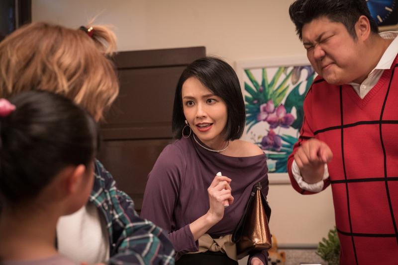 《姊妹們 追吧》袁艾菲飾演機車債主自嘲惹人厭