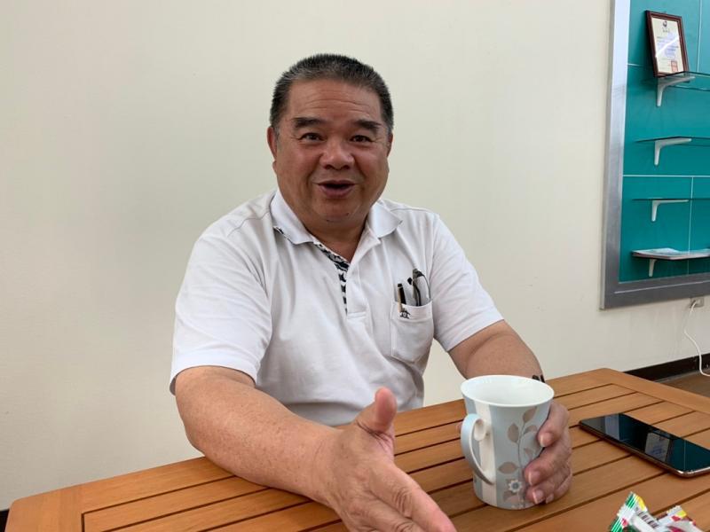 對慈善志業的未來,林銘賢董事長胸有成竹的侃侃談。