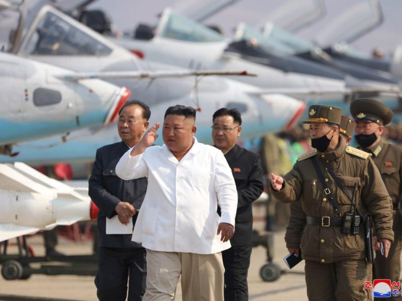 ▲北韓領導人金正恩。(圖/翻攝自《香港 01 》)