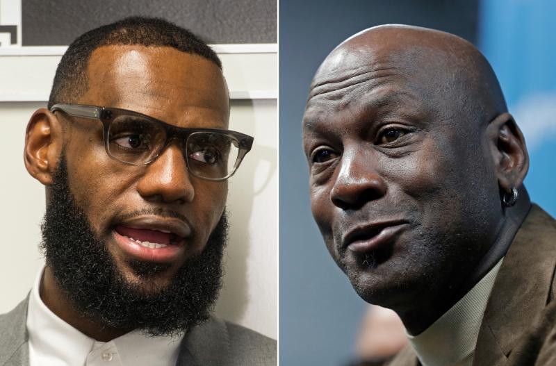 NBA/抨擊詹皇「未受尊重」言論 球評:他永遠不是GOAT