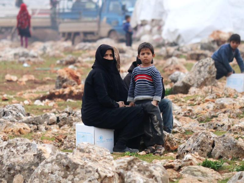 ▲聯合國組織認為,世界上因內亂、蝗災而缺糧的國家,疫情將會加重糧食危機。(圖/翻攝自推特@UNCF)