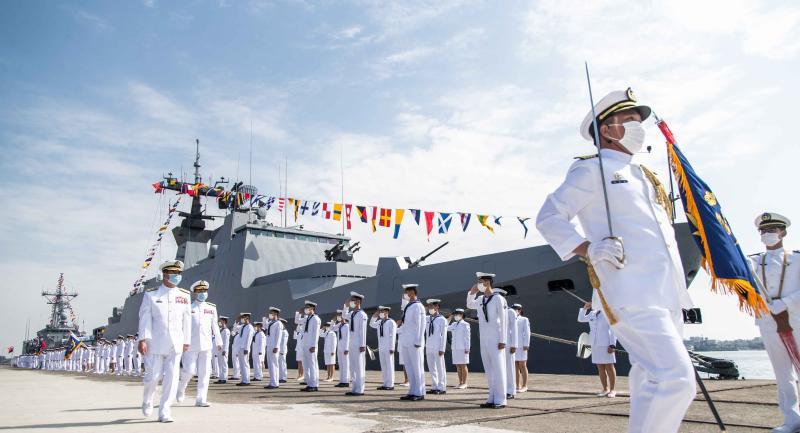 敦睦艦隊傳秘密與南海國家演習 海軍:純屬臆測絕非事實