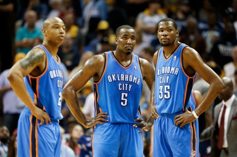 Caron Butler, Kendrick Perkins, Kevin Durant