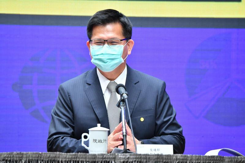 交通部長林佳龍。( 圖 / 行政院提供 )