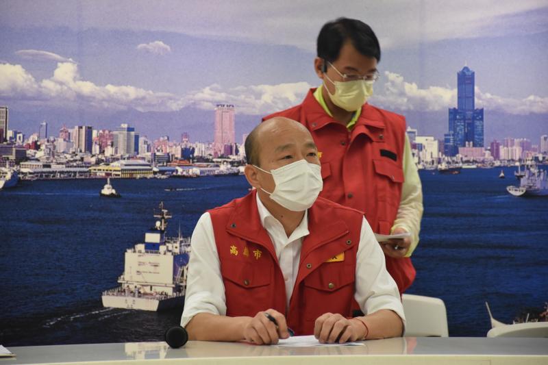 ▲高雄市長韓國瑜曾被日媒封為「遲刻魔」。 (圖/記者吳承翰攝)