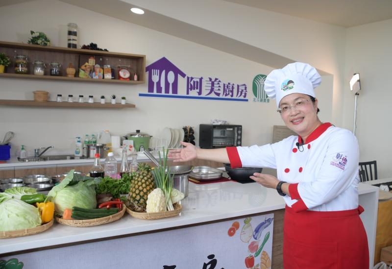 影/「阿美廚房」開張 上菜節目行銷農特產品