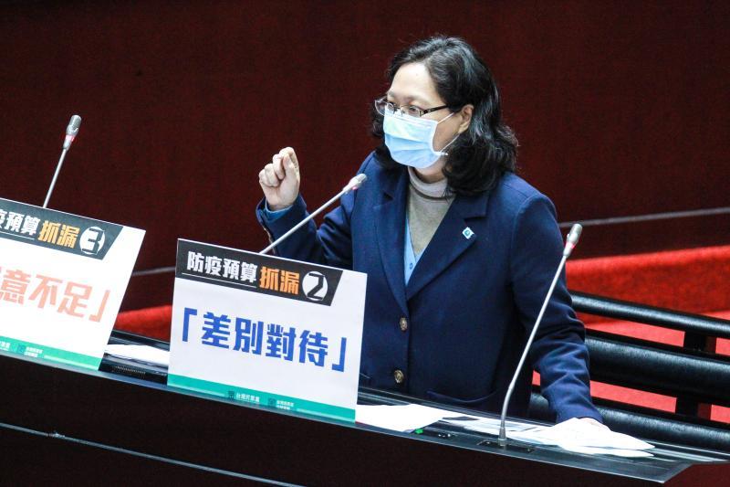 ▲民眾黨立委賴香伶。(圖/記者葉政勳攝 , 2020.04.24