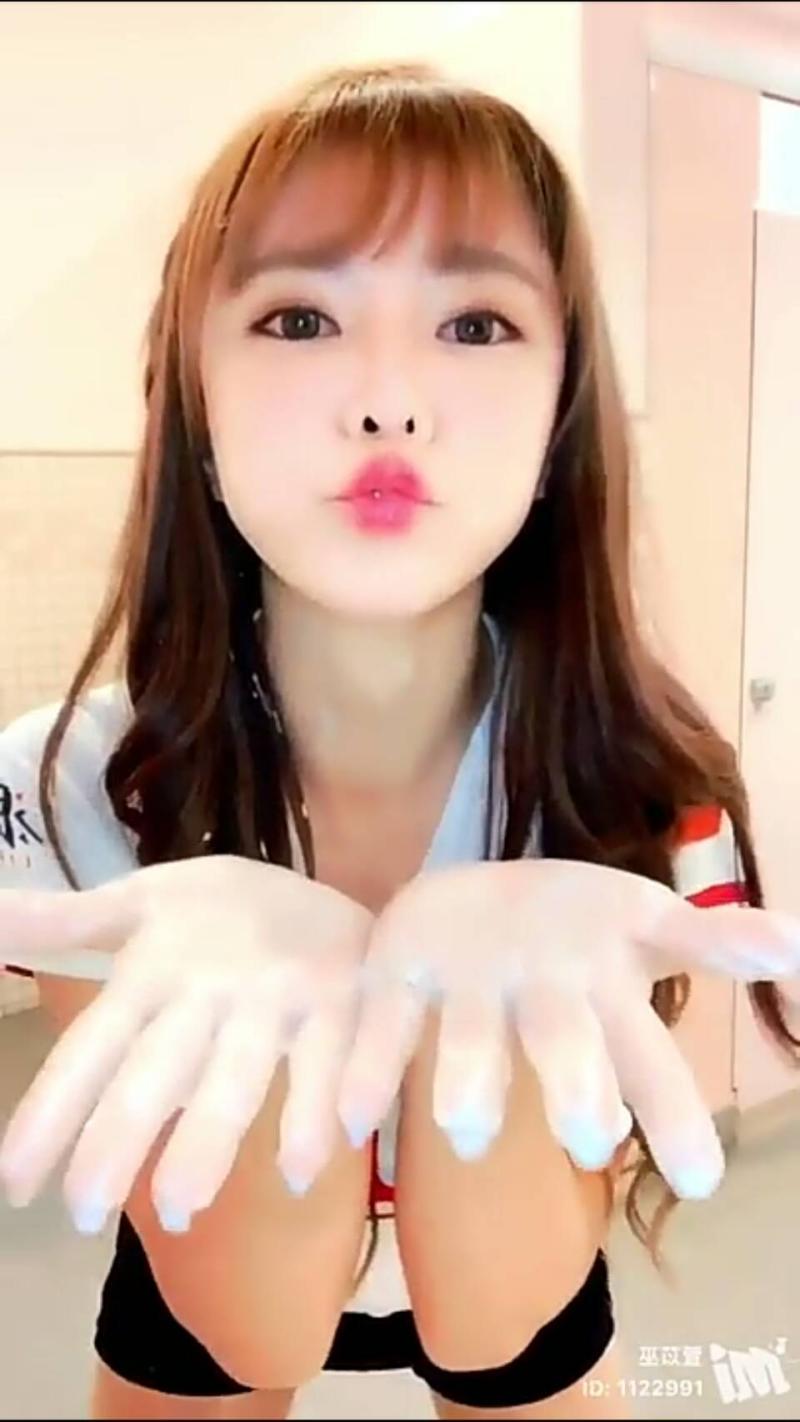▲樂天女孩巫苡瑄拍洗手舞短影音。(圖/iM短影提供)