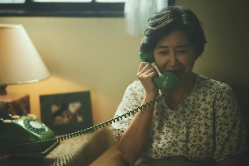 ▲蘇明明飾演阿榮的母親。(圖/答人文創)