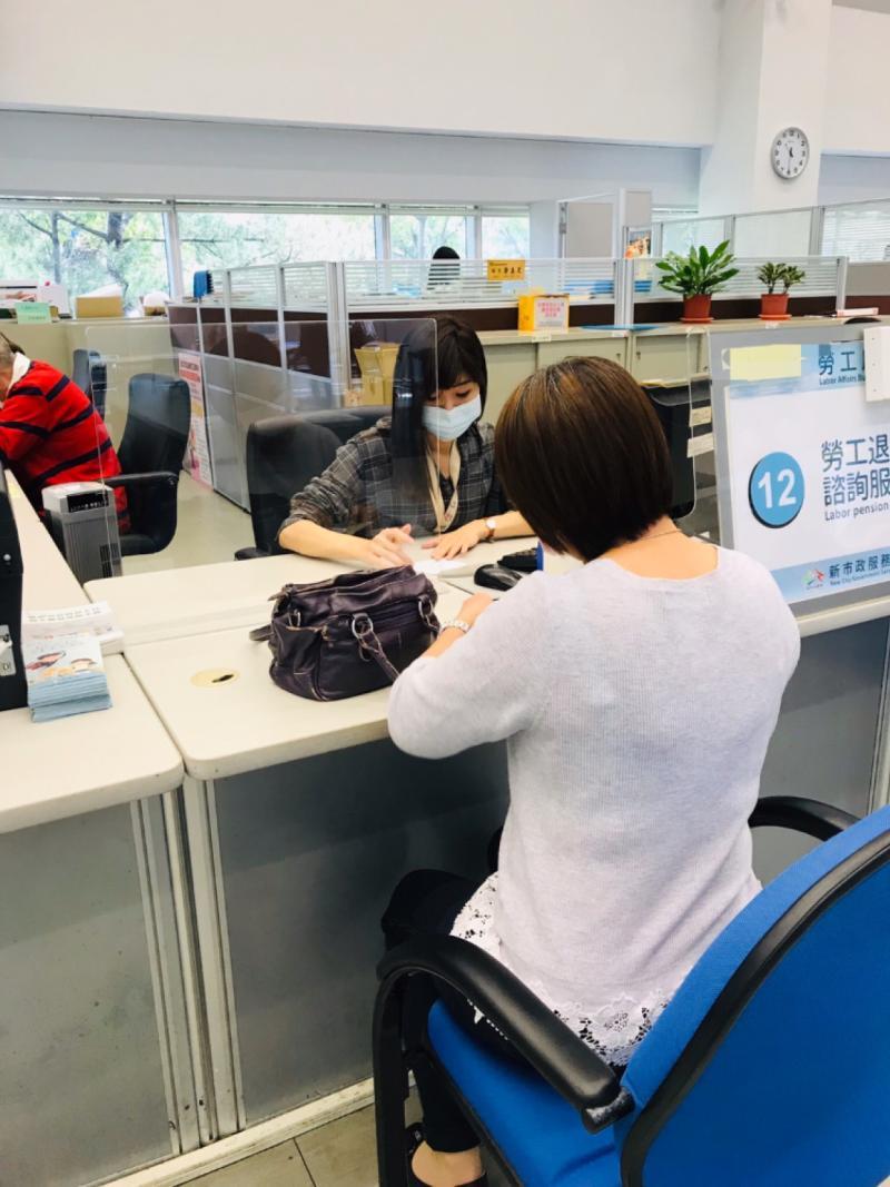 中市補助非自願性失業勞工     協助度過疫情難關