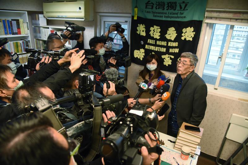 游錫堃親賀<b>銅鑼灣書店</b>開幕 林榮基:台灣是港人最後堡壘