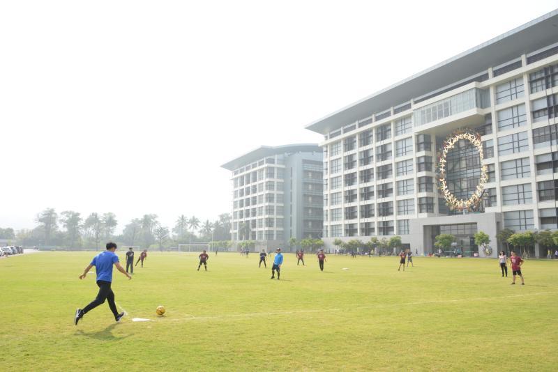 ▲國訓中心舉行足壘球聯誼賽。(圖/國訓中心提供)