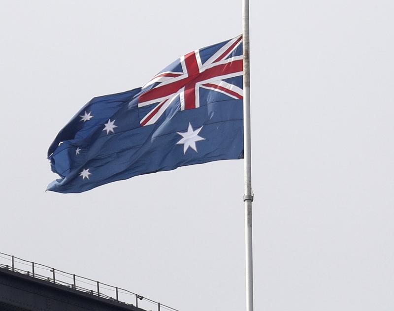 ▲澳洲國旗。(圖/美聯社/達志影像)