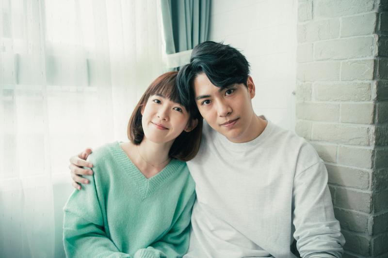 孫可芳與林子閎飾演前男女朋友