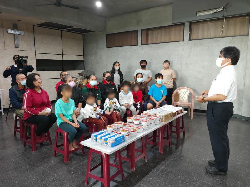 <br> ▲慈濟人醫會林榮威醫師也用專業的角度介紹素食的好處。(圖/記者陳雅芳攝,2020.04.25)