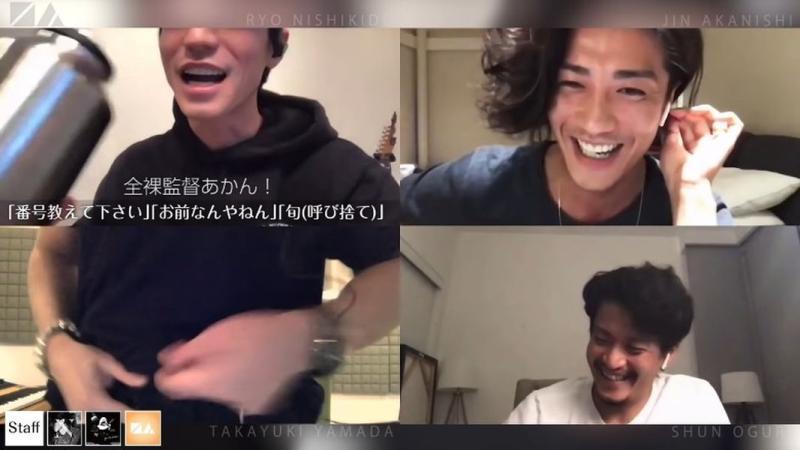 影/山田孝之玩直播「脫褲裸聊」!小栗旬也跟著加入