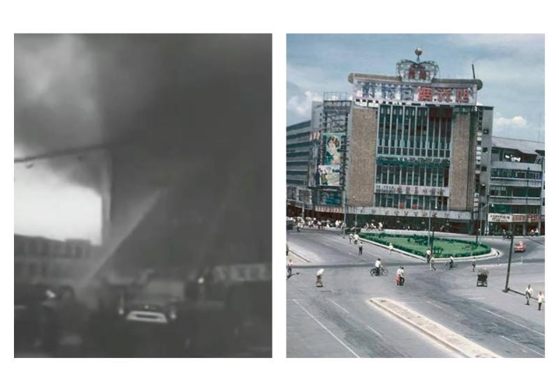 ▲林森錢櫃遭祝融!老司機揭「 54 年前惡夢」。(圖/翻攝自臉書)