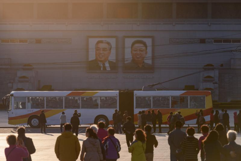 ▲北韓車站。(圖/翻攝自《紐約時報》)