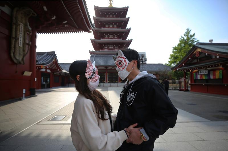 ▲日本正值一年一度的黃金週長假。(圖/美聯社/達志影像)