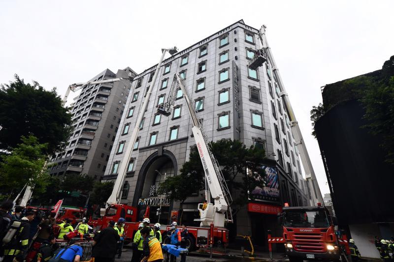 林森錢櫃大火後 建管處科員遭爆索賄護航電梯安檢