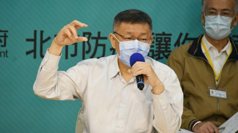 台北市長柯文哲27日受訪時,表示「我們已經是連任的政府,不需要去做那麼多的廣告,或者什麼市政行銷。」