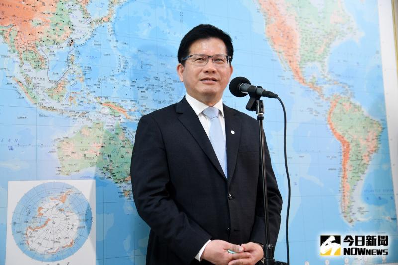 交通部長林佳龍。(圖/記者林柏年攝,2020.04.29)