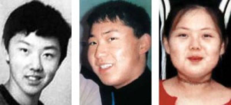 <br> ▲金正哲、金正恩、金與正少年照。(圖/翻攝自韓國媒體)