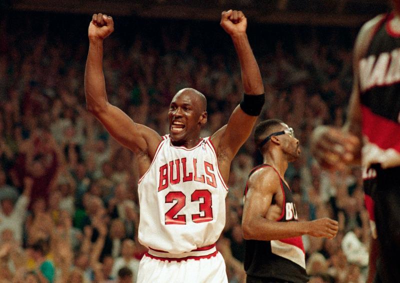 芝加哥公牛傳奇Michael Jordan。(圖/美聯社/達志影像)