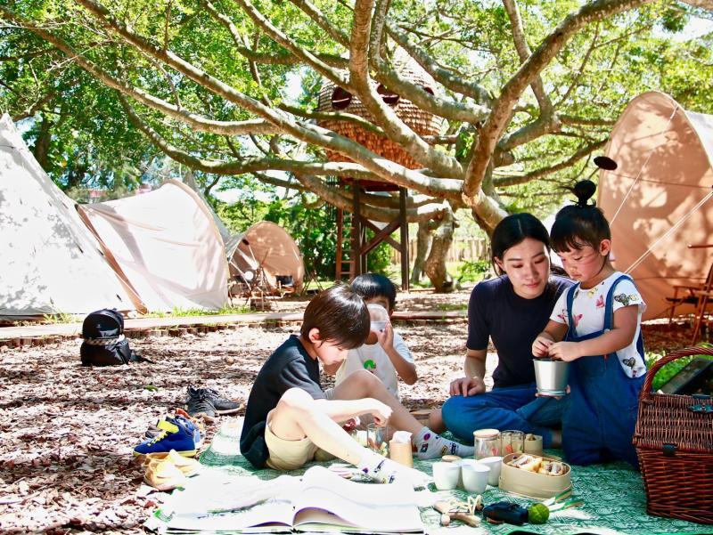免裝備露營團遊程