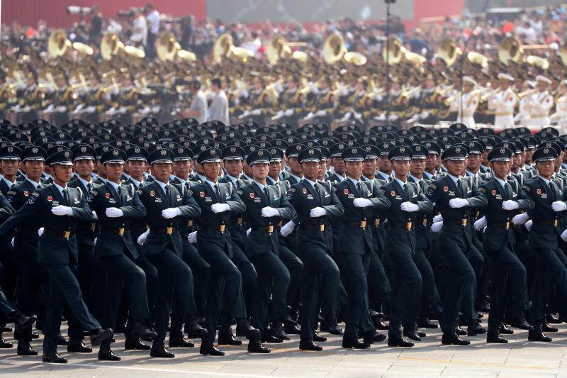 ▲中國人民解放軍。資料照。(圖/美聯社/達志影像)