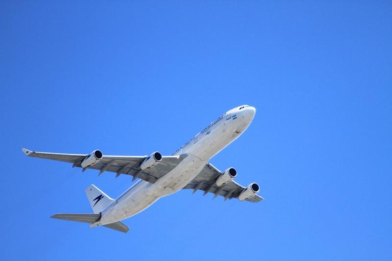 ▲美國一名飛航員利用航行路線寫下心情。(圖/翻攝自 Pixabay)