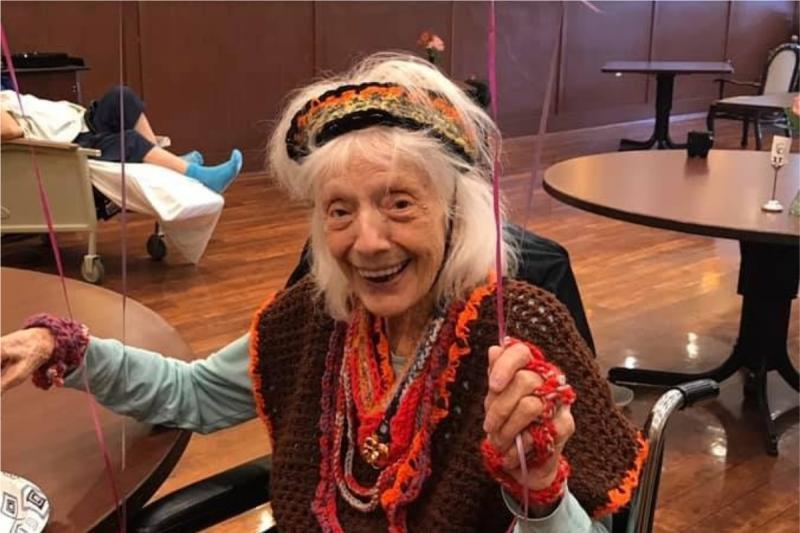 百歲<b>奶奶</b>超勇健!染新冠肺炎也痊癒 女兒震驚:像超人