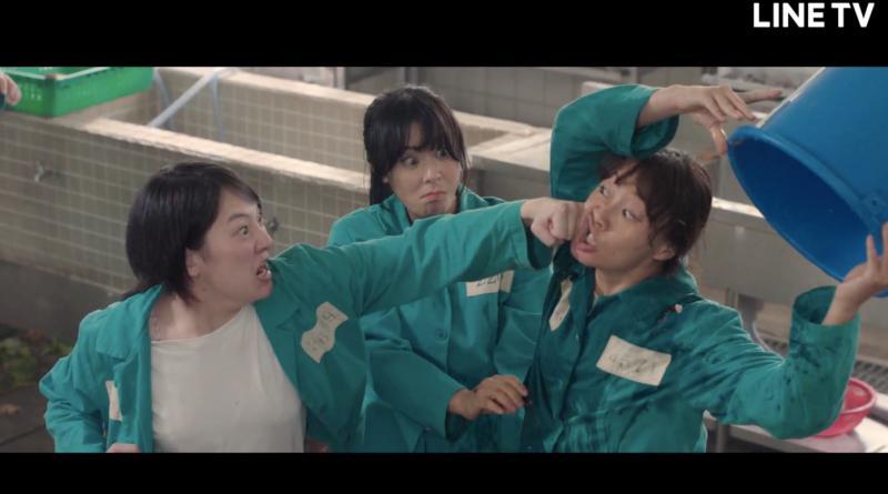 崔江姬劇中一打多教訓霸凌惡女,一秒閃過拳頭讓兩人互打。