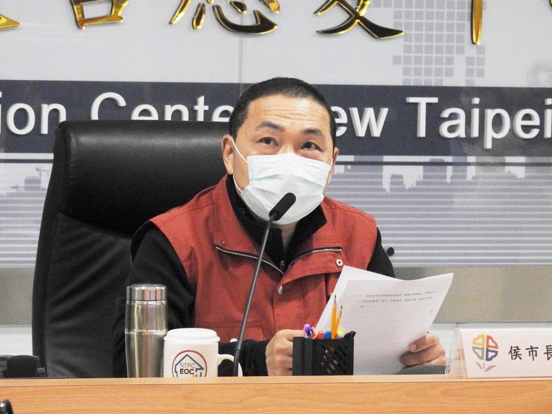 侯友宜:中央疫調做好 要盡速通知相關縣市