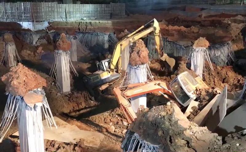 停車場工程坍塌釀一死 鄭文燦:客觀調查、從嚴處分