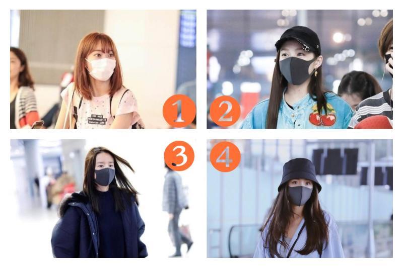 口罩戴上誰最美?4女星樣貌曝光 大學生一面倒:太氣質