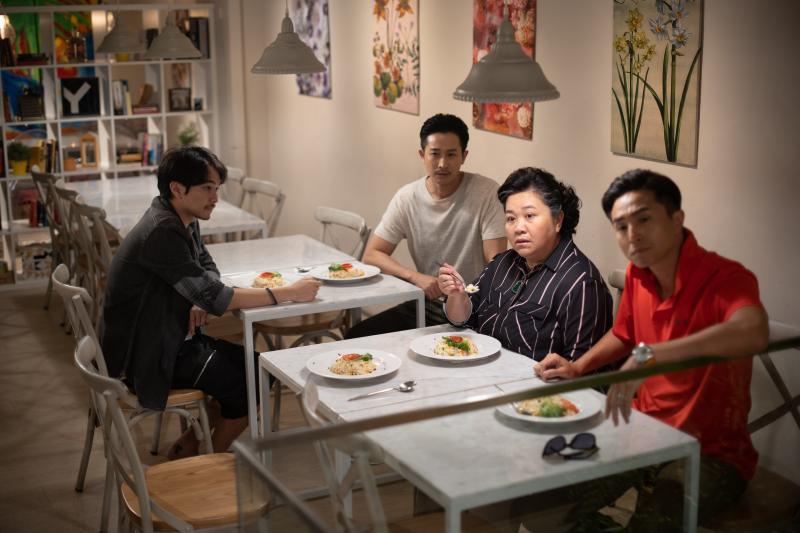 ▲楊銘威(左起)、Darren、鍾欣凌、王少偉在《我的婆婆》將有爆笑演出。(圖