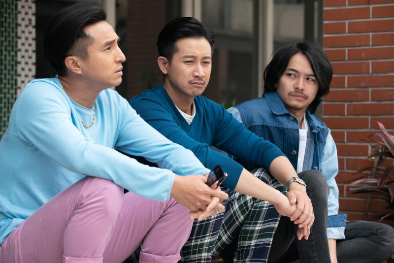 <br> ▲(左起)王少偉、Darren、楊銘威飾演三兄弟。(圖 / 公視提供)