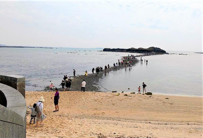 澎湖觀光慘業 <b>摩西分海</b>首日僅有373人造訪