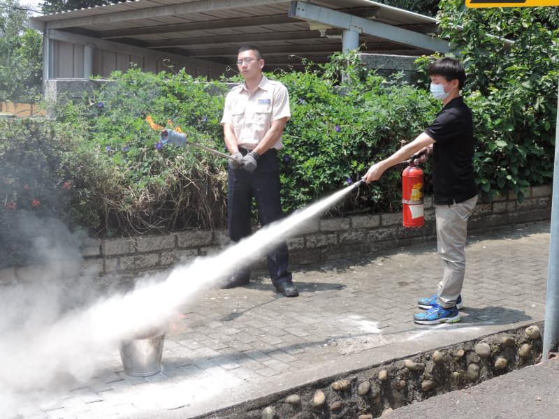 火災應變臨機教育訓練
