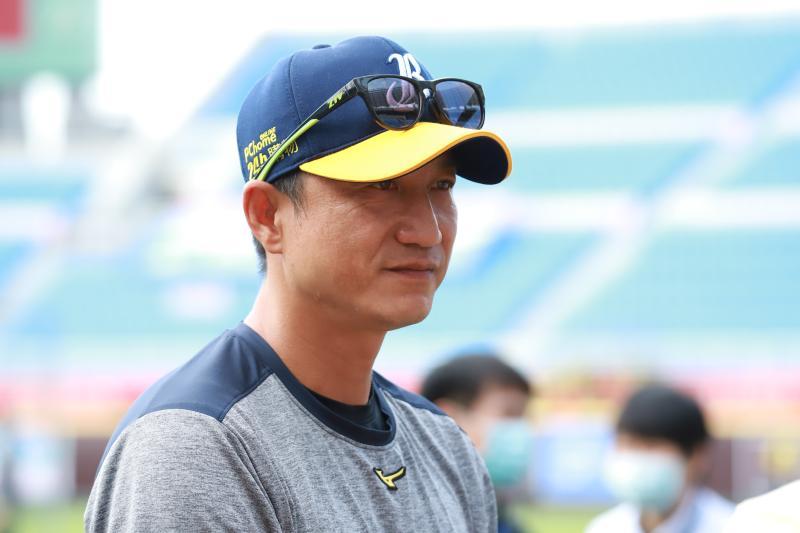 ▲中信兄弟總教練丘昌榮。(圖/記者葉政勳攝 , 2020.05