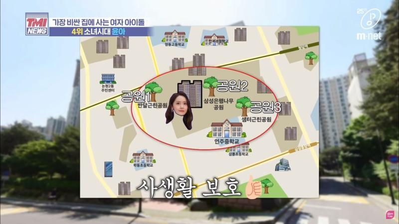 ▲▼潤娥的豪宅有三個大型公園包圍,比較隱密。(圖/翻攝TMI News)