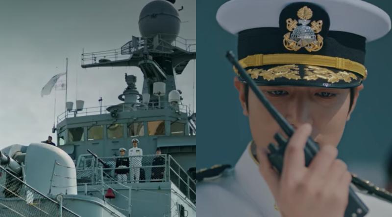 李敏鎬「國家面前無愛情」 穿海軍服登軍艦攻擊日本!