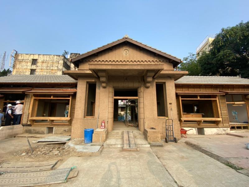 百年風華再現 日式建築烏日警察官吏派出所修復即將完工